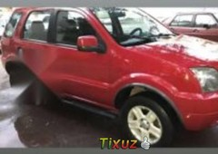 vendo un ford ecosport impecable