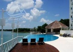 3 cuartos, 180 m departamento en venta en marina turquesa cancun