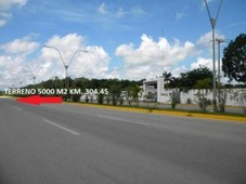 5063 m terreno en venta en cancún avenida lòpez