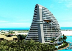 1 bedroom condos for sale, shark tower, cancun, mexico