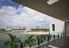 4 bedroom luxury home for sale with dock, puerto cancún, mexico