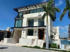 casa en venta en cancun la marina, puerto cancun