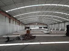 bodega en renta sur de la ciudad 3,500 m2 con anden parque industrial