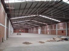 excelente bodega de 3,000 m2 en ciudad industrial en renta