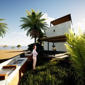 3 cuartos, 95 m venta de condominio con 3 recamaras y vista al mar