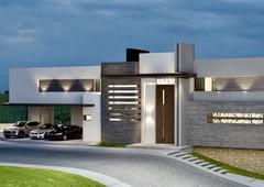casa en venta en monterrey carretera nacional sierra alta, con un solo vecino