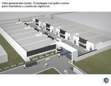 preventa bodegas en parque industrial chihuahua, desarrollo con caseta de vigilancia y circuito cerrado.